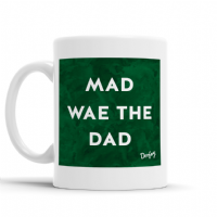 Doofery - Mad Wae The Dad Mug - Green